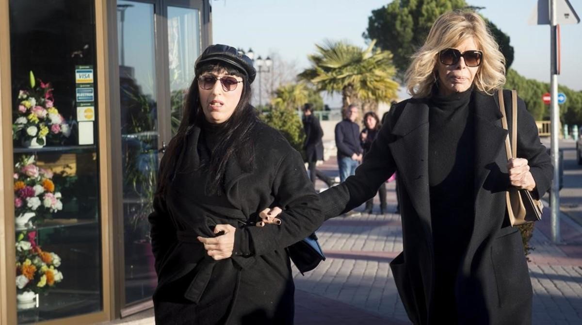 Las actrices Rossy de Palma y Bibiana Fernández.