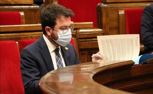 Pere Aragonès abre la puerta a prolongar el confinamiento municipal en Catalunya.