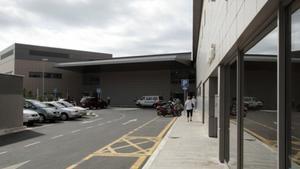 Exteriores del área de Urgencias del Hospital Esperit Sant de Santa Coloma.