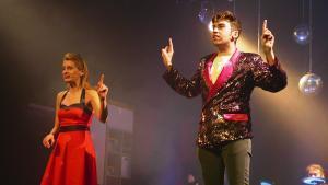 Lluna Pindado e Iker Moreno protagonizan este didáctico espectáculo.