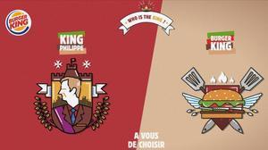 La campaña publicitaria de Burger King.