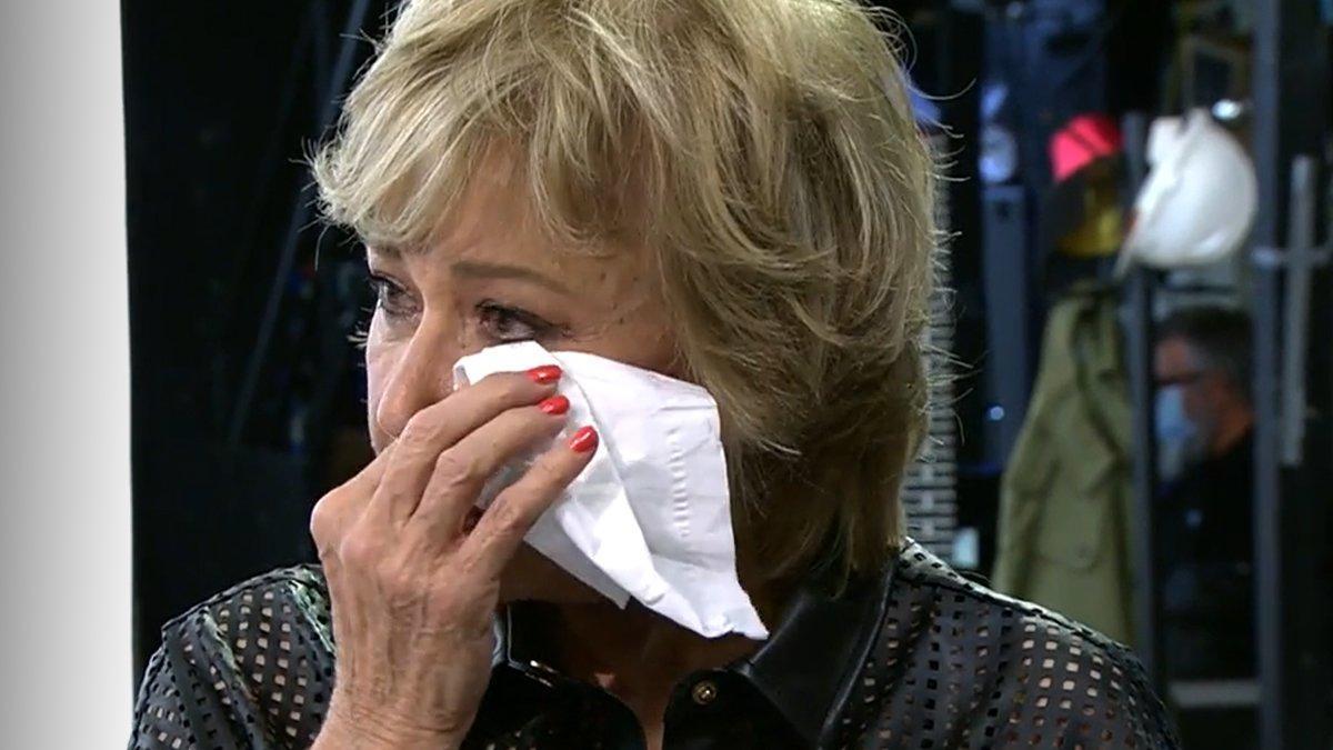 """Mila abandona llorando el plató 'Sálvame' y estalla contra Patiño: """"Hacéis de esto vuestra vida"""""""
