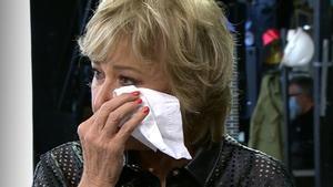 Mila abandona plorant el plató 'Sálvame' i esclata contra Patiño: «Feu d'això la vostra vida»