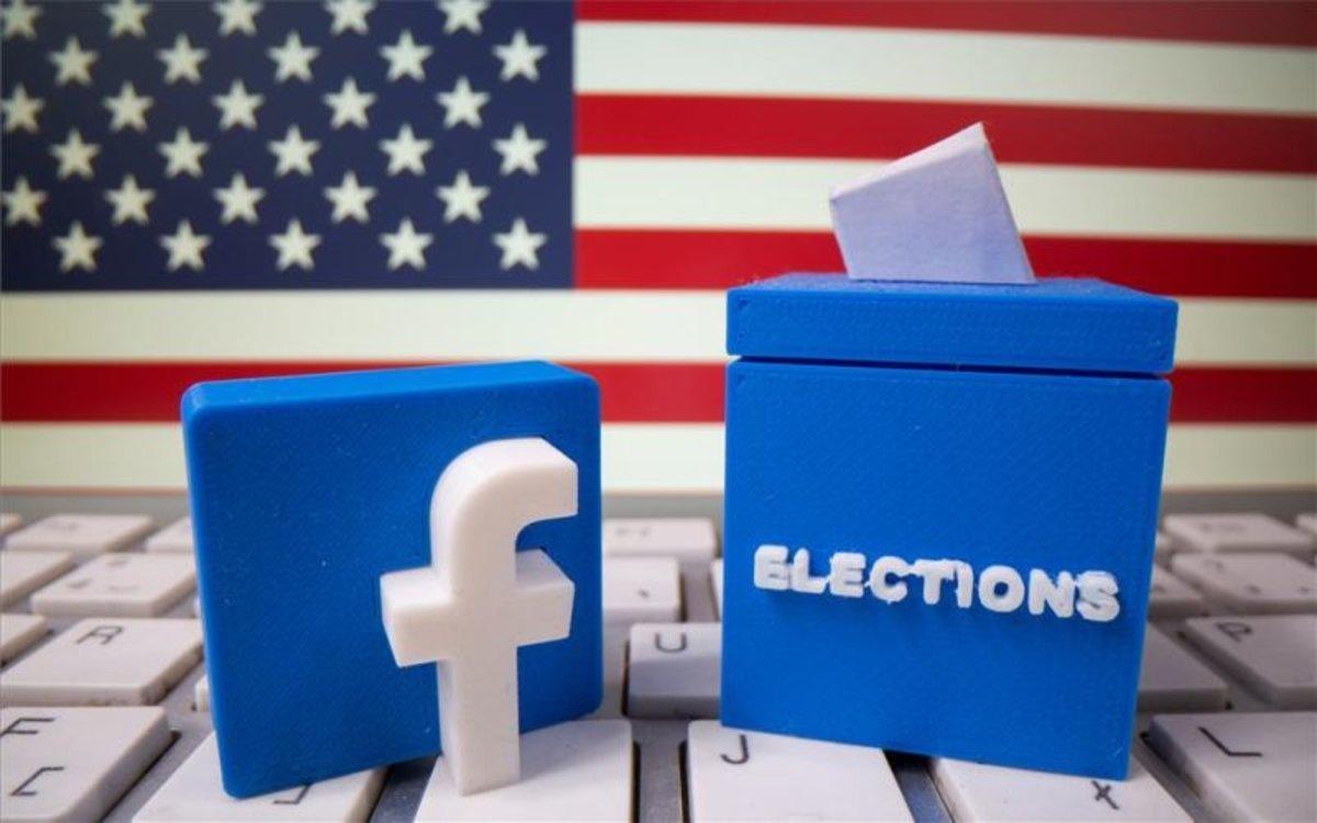 Facebook y las elecciones presidenciales en lo EEUU.