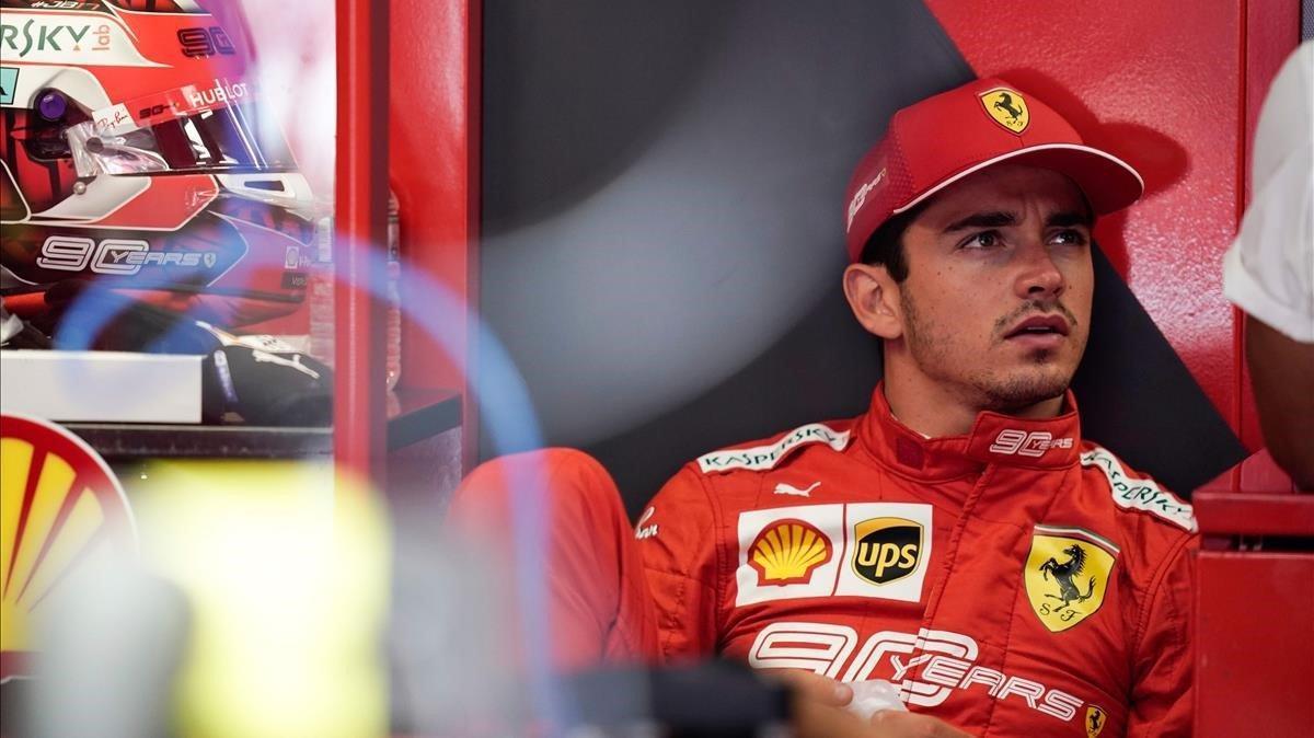 Charles Leclerc (Ferrari).
