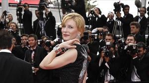 La actriz Cate Blanchett, en el Festival de Cannes.