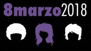 Cartel 'Hacia la Huelga feminista'para el8 de marzo 2018
