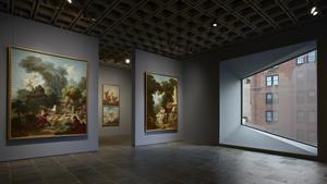 Una imagen de la colección Frick en su sede temporal en el edificio brutalista de Marcel Breuer.