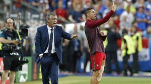 Cristiano Ronaldo es corona com a tècnic en la final de l'Eurocopa