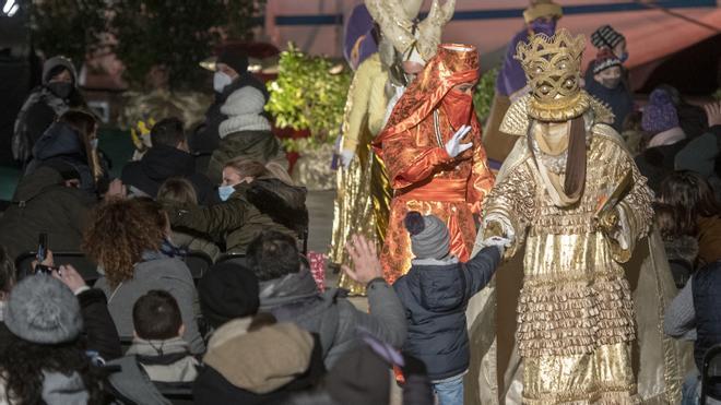 Los Reyes Magos en Barcelona, en tres minutos
