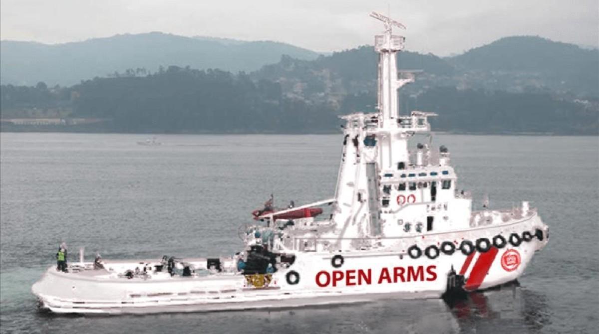 Proactiva Open Arms suma una nueva embarcación al rescate de refugiados