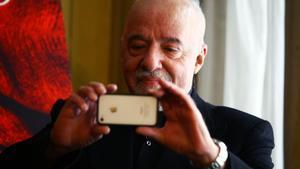 Paulo Coelho, fotografiado en una de sus visitas a Madrid