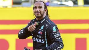 Lewis Hamilton (Mercedes) suma lavictoria número 90 en el GP de la Toscana