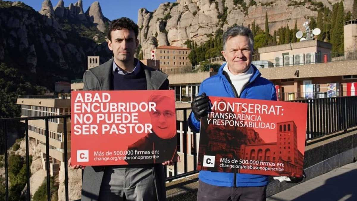 Víctima abusos sexuales Montserrat pide dimisión abad Soler por encubridor.
