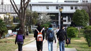 El campus de la UAB en Bellaterra.