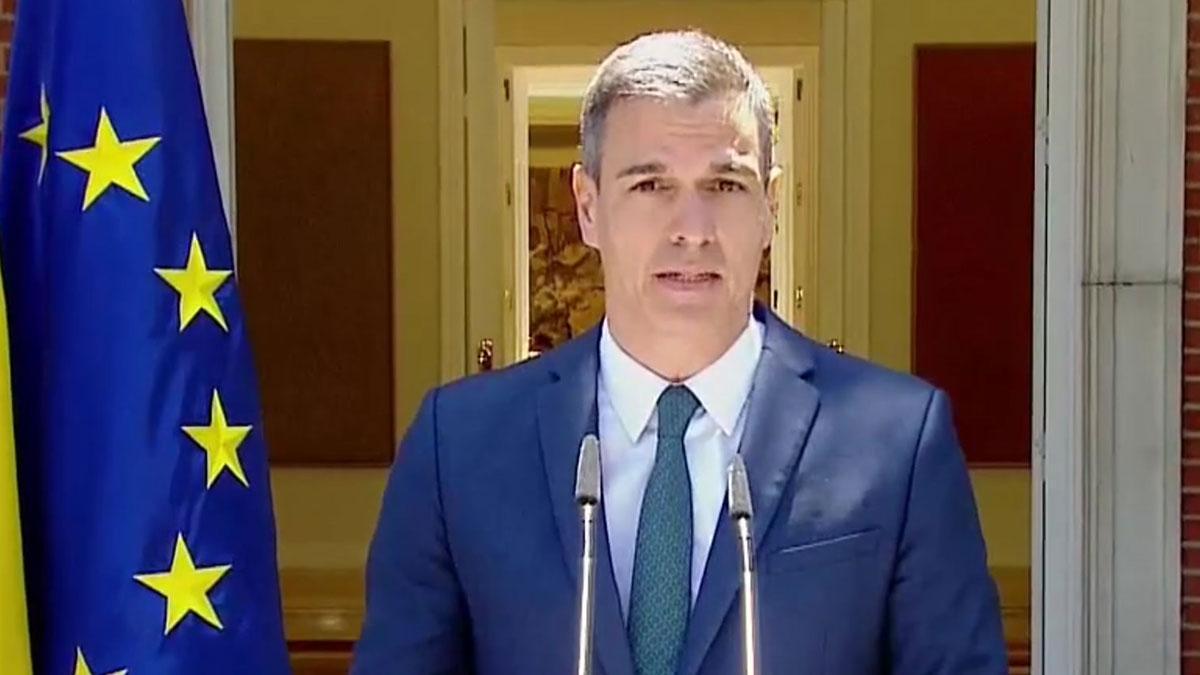 Pedro Sánchez garantiza la integridad territorial de España, ante los disturbios en Ceuta y Melilla.