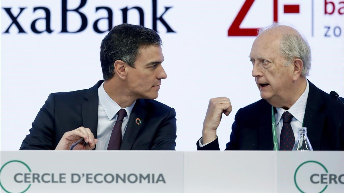 Sánchez reivindica su europeísmo ante el empresariado