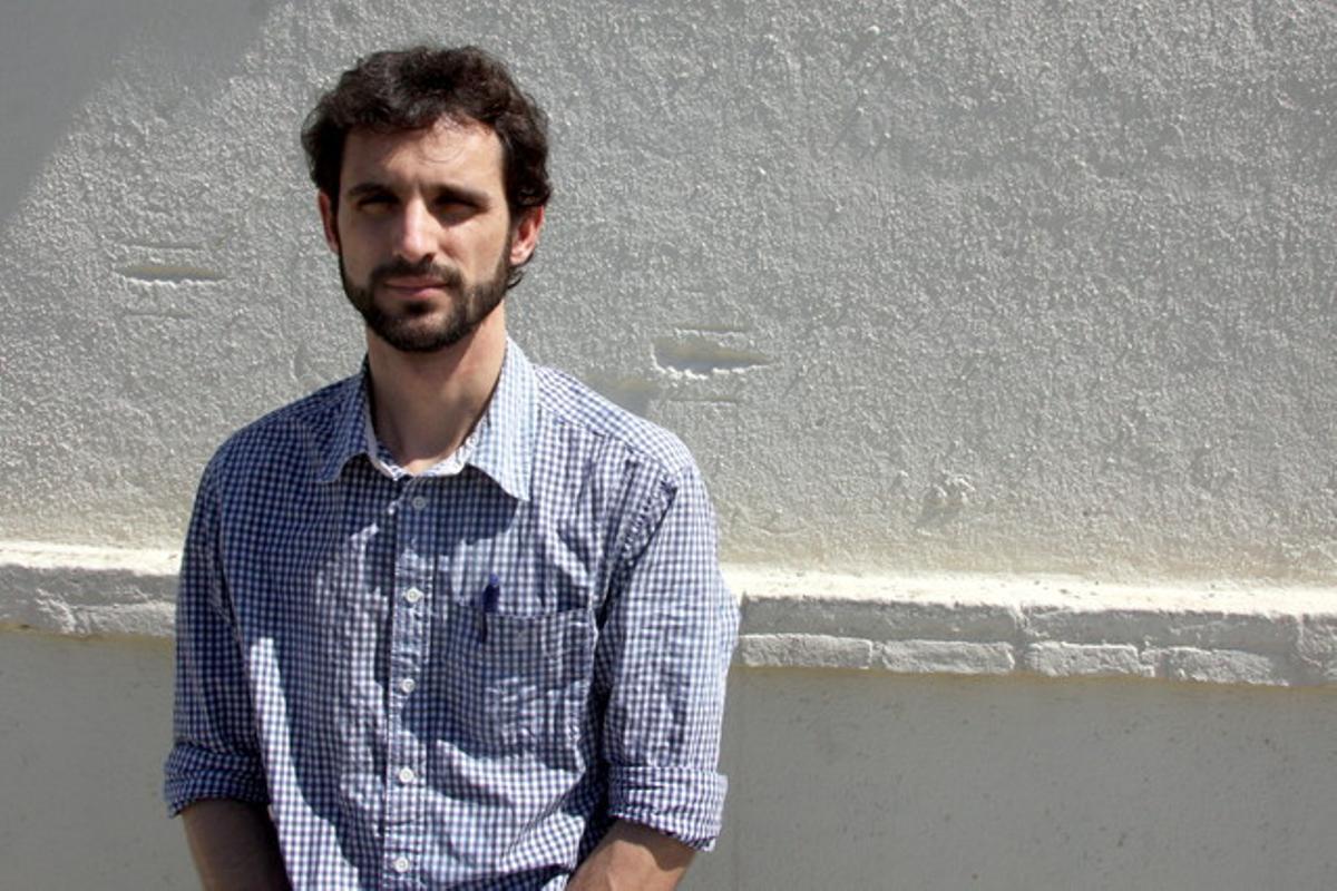 El periodista Bertran Cazorla.