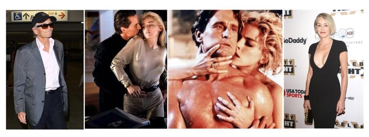 Michael Douglas Y Sharon Stone 25 Años De Instinto Básico
