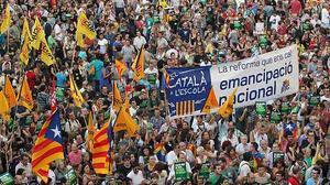 El catalán, víctima del 'procés'