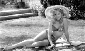 Sue Lyon, en el famoso papel de Lolita.