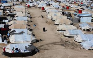 Campo de refugiados de Al Hol en Siria.
