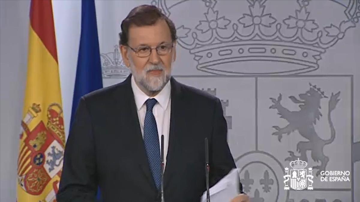 Rajoy vol les regnes de Catalunya per frenar la DUI