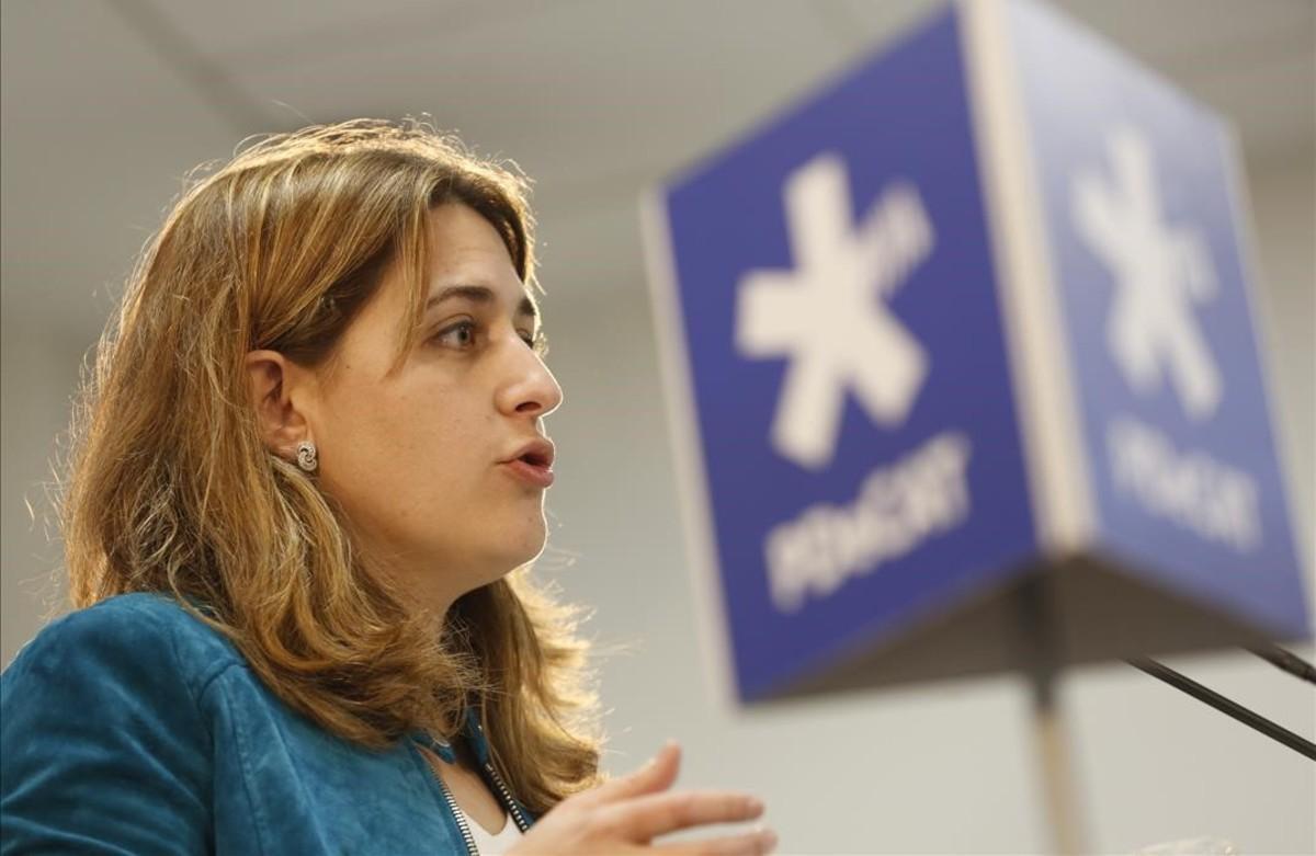 La coordinadora general del PDECat, Marta Pascal.