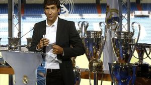 Raúl González, actual entrenador del Castilla.