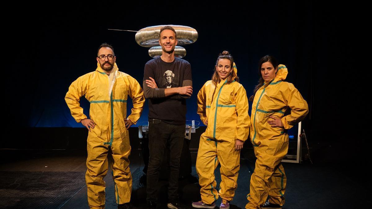 Dani Jiménez y su equipo, en 'Efecte wow'.