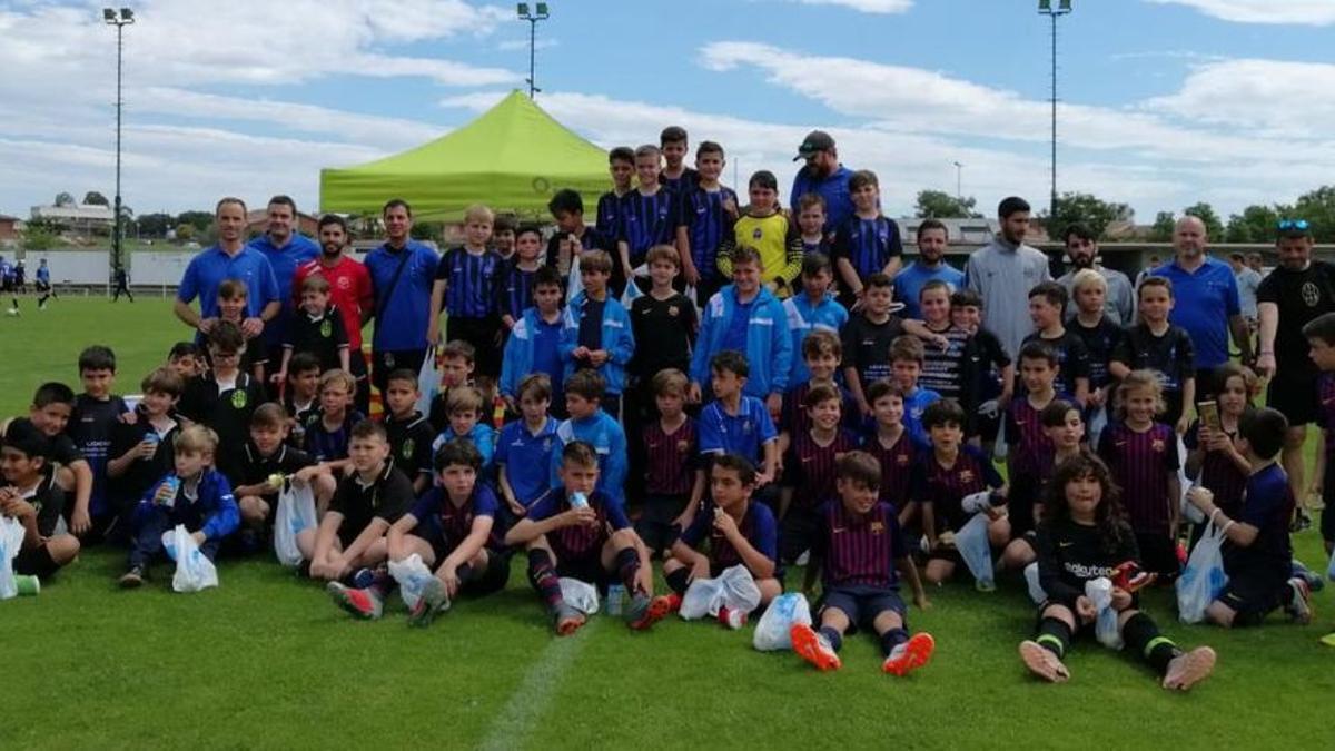 Iniciativa solidaria del fútbol base de Vilobí