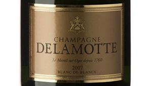 Delamotte Blanc de blancs 2007, xampany d'anyada