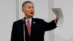 El presidente de Tokio 2020 se disculpa públicamente por sus comentarios sexistas.