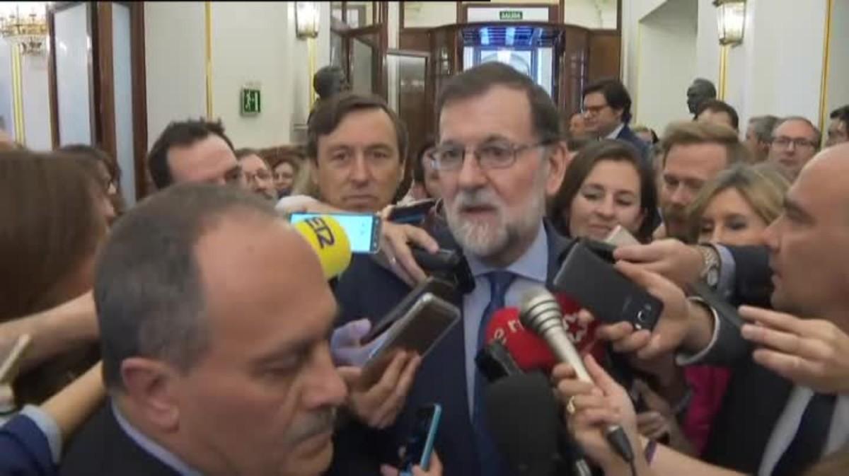 Mariano Rajoy ha asegurado que la dimisión de Cristina Cifuentes como presidenta de la Comunidad de Madrid era 'obligada'.