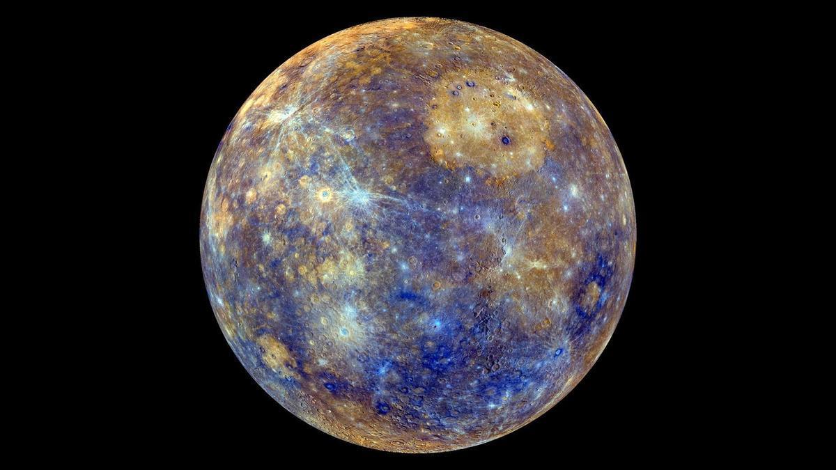 Mercurio captado por la NASA.
