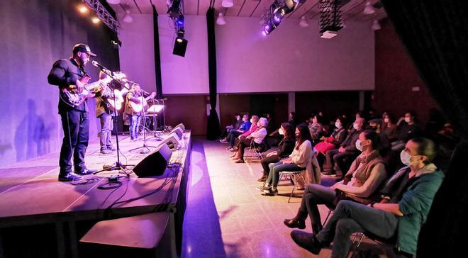 Una imagen de un concierto celebrado recientemente en el Albareda.
