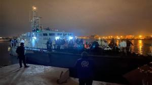 Devolución de inmigrantes a Libia.