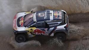 Sainz, a una passejada de guanyar el segon Dakar
