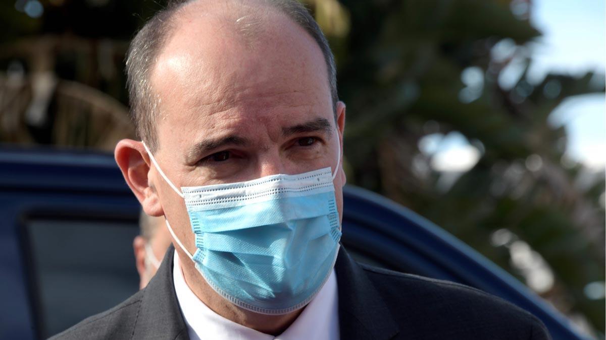 Francia pide a sus ciudadanos no viajar a Catalunya por los rebrotes del coronavirus. En la foto, el primer ministro francés, Jean Castex.
