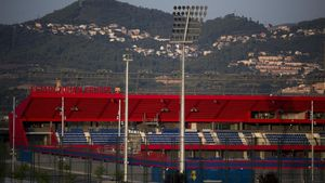 Estadi Johan Cruyff, la nova casa del planter del Barça