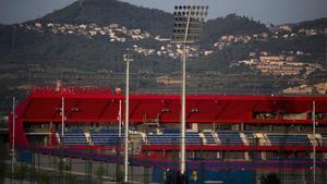 El nuevo estadi Johan Cruyff se inaugurará el próximo martes 27 de agosto.