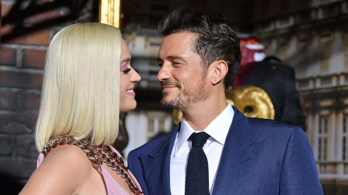 Orlando Bloom y Katy Perry.