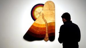 Presentación esta mañanade la exposición Trilogía Marroquí en el Museo Reina Sofía.