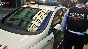 Una patrulla de los Mossos d'Esquadra, en una imagen de archivo.