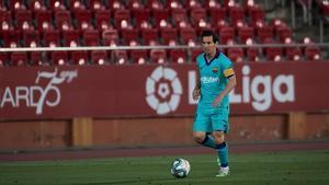 Leo Messi, el sábado pasado, en Mallorca.