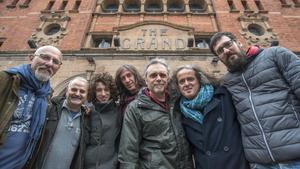 El grupo SOPA DE CABRA celebrósu 30 aniversario con un concierto en la sala The Grand en Londres.