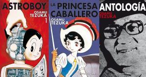 Obras de Osamu Tezuka publicadas en España.