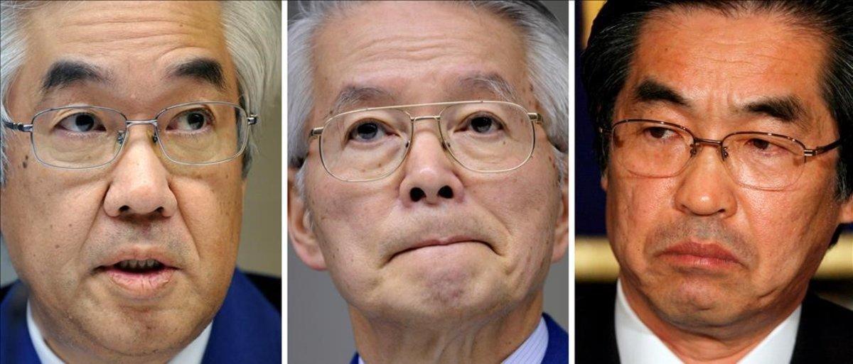 Los tres directivos de Tepco absueltos por el desastre de Fukushima.