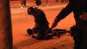 El candidato de la CUP por Girona, herido en la manifestación por Hasél
