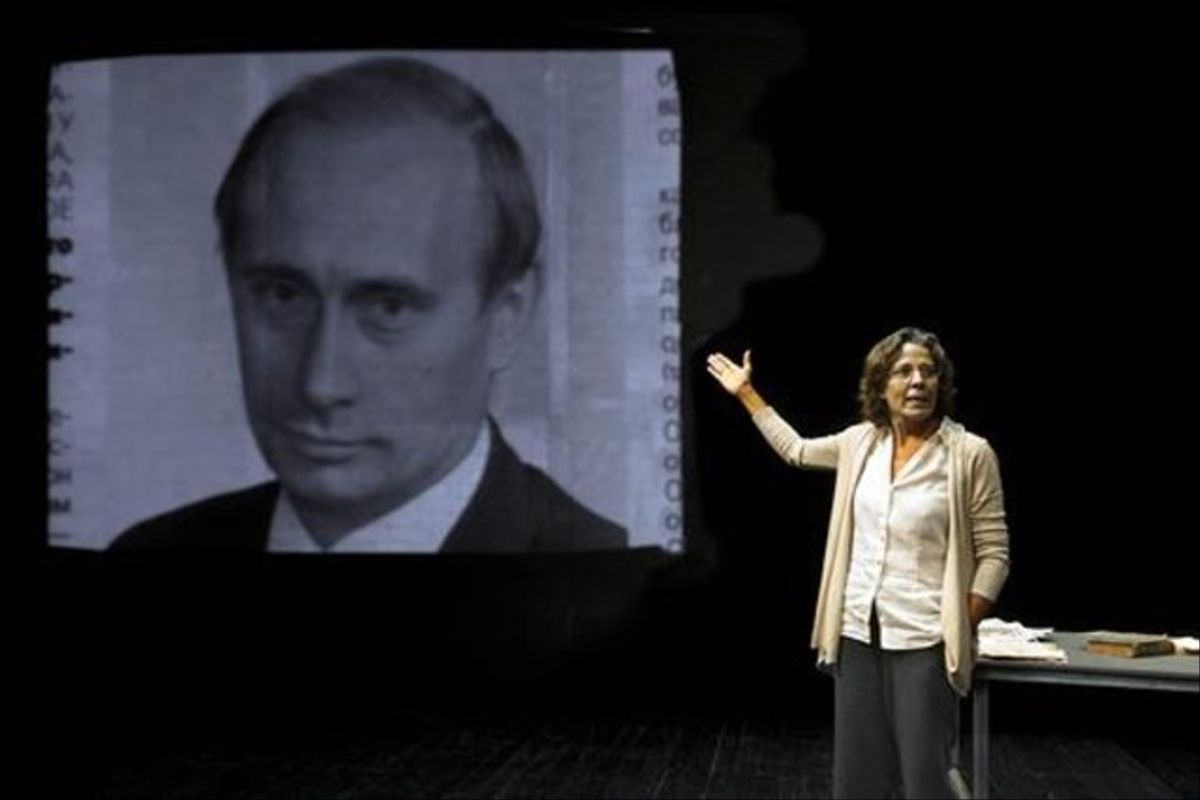 Míriam Iscla encarna a la periodista rusa Anna Politovskaya.